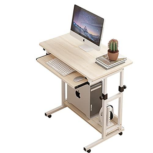 Tolalo Estación de trabajo de escritorio de computadora ORDENADOR PERSONAL Escritorio de oficina de estudio de estudio de la computadora portátil, escritorio de computadora simple con el escritorio de