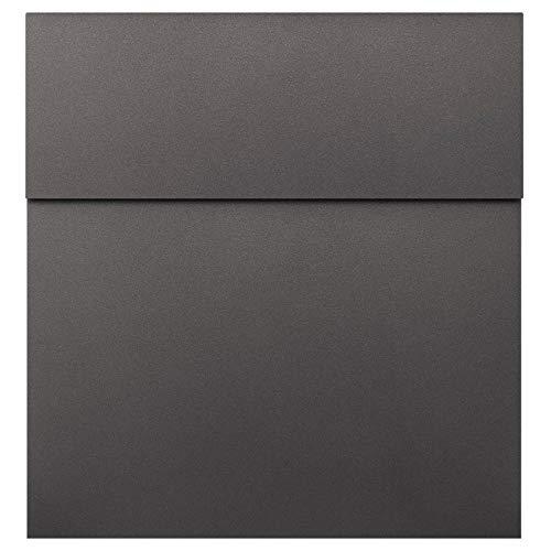 Design-Briefkasten anthrazit-eisenglimmer (DB 703) MOCAVI Box 570 hochwertiger Wand-Postkasten groß modern wetterfest rostfrei deutsche Markenqualität