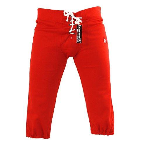 BARNETT FP-2 Pantalon de Football américain Match, Rouge (XL)