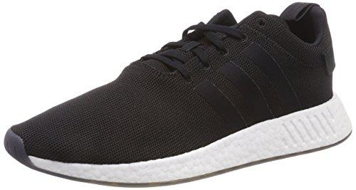 adidas NMD_R2, Zapatillas Unisex Adulto, Negro (Core Black/Core Black/Core Black 000), 42 EU