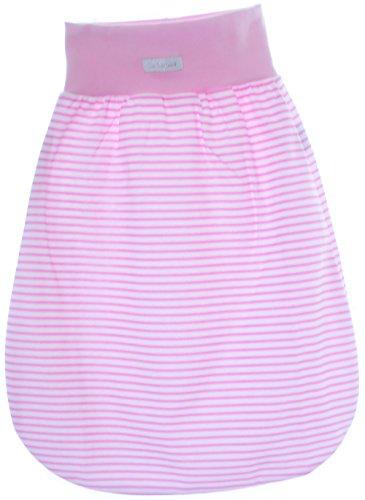 Baby rugzak slaapzak babyslaapzak zonder mouwen grijs blauw roze 62/68-55cm. roze