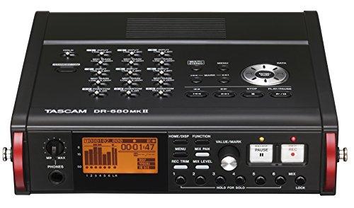 TASCAM DR 680 MK2 Multitrack TASCAM-Aufzeichnung