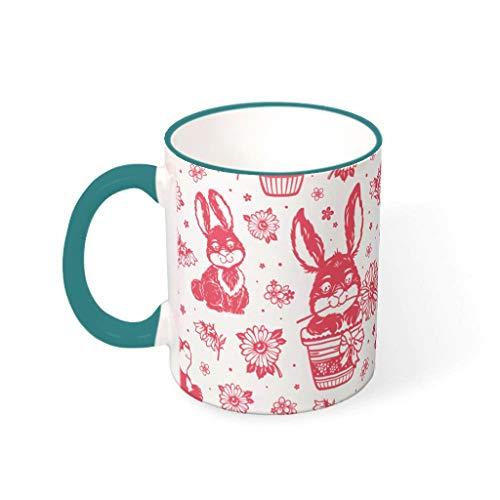 OwlOwlfan Taza de café personalizada con asa para café, bar, cumpleaños, festival, regalo para familiares y amigos, 330 ml