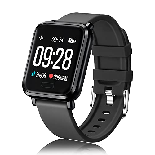 Smartwatch ECOSOON Relojes Inteligentes Mujer Hombre Niños Impermeable IP68 Pulsera de Actividad Inteligente con Caloría Pulsómetros Monitor de Sueño Smart Watch Women Men Kid para Android iOS