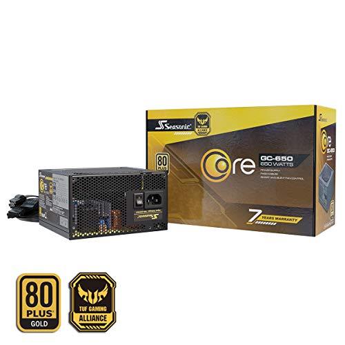 Seasonic Alimentateur PC non modulaire CORE-GC-650 80PLUS Gold 650 Watts
