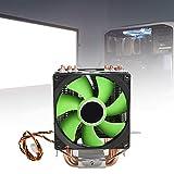 Radiador de computadora, ámbito de aplicación Refrigerador de CPU Placa de abs y cojinete hidráulico para una disipación de Calor eficiente Asegura el Funcionamiento Normal de la computadora