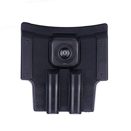HDMEU - Sistema di parcheggio con telecamera frontale integrata per auto con sensore CCD impermeabile IP67 Wide Grade (Middle), nero per telecamera anteriore con logo per Toyota Prado 2018