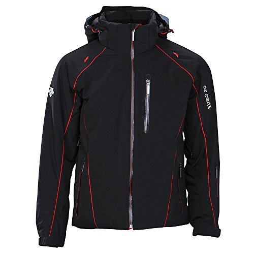 Descente Men Prospect Jacket black/electric red