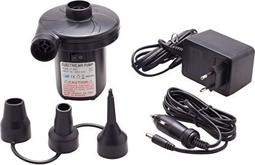 Cao 951 Pompe électrique Mixte Adulte, Noir, 220 Volts et 12 Volts