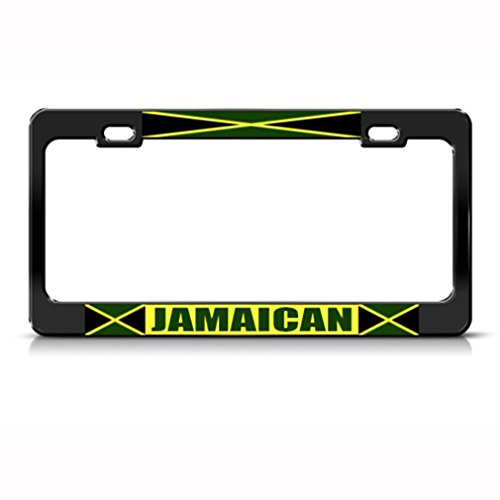 Top 10 jamaican flag color license plate holder for 2021