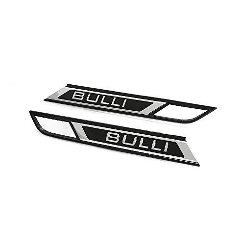 Bulli Schriftzug Set Kotflügel Blinkleuchte Plakette, nur T6.1 Facelift