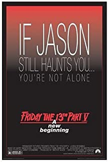 Friday the 13th Poster Part V 5 A New Beginning