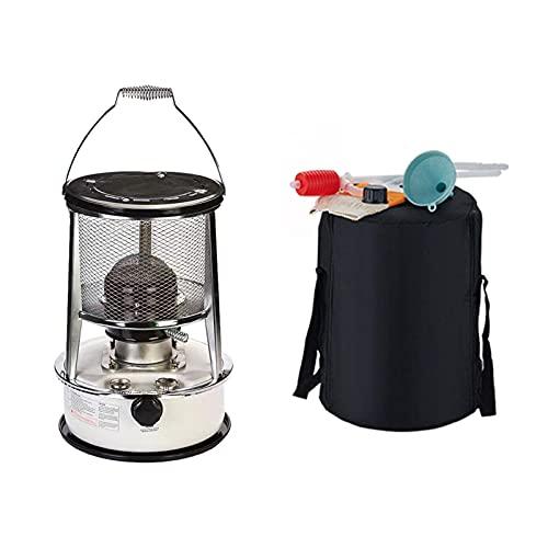 badewanne Calentador de estufa de queroseno, estufa diesel de queroseno de camping al aire libre, aceite combustible portátil, adecuado para calefacción del hogar (6L)