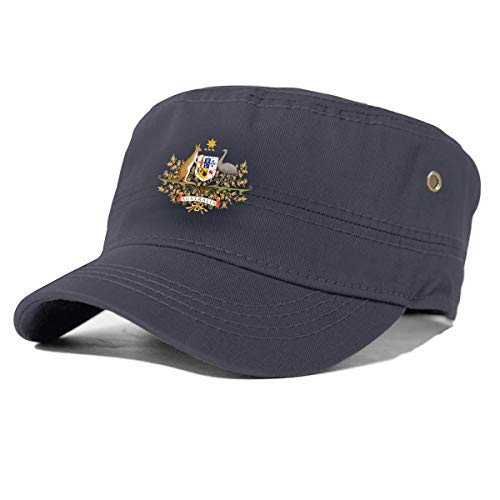 EU Gorra del ejército Sombrero de Cuerpo de béisbol Australia Insignia Canguro...
