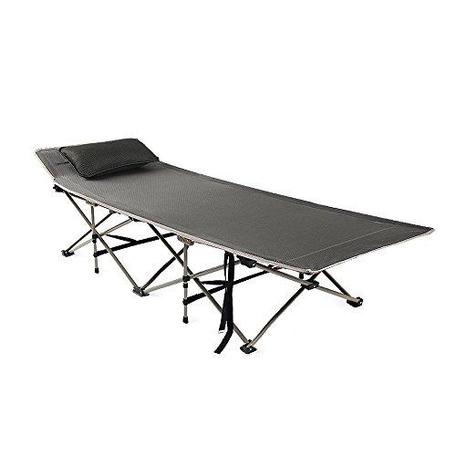 ch-AIR Chaise Longue à Bascule Zhihen - Fauteuil inclinable Portable et Silencieux - pour extérieur ou Cour