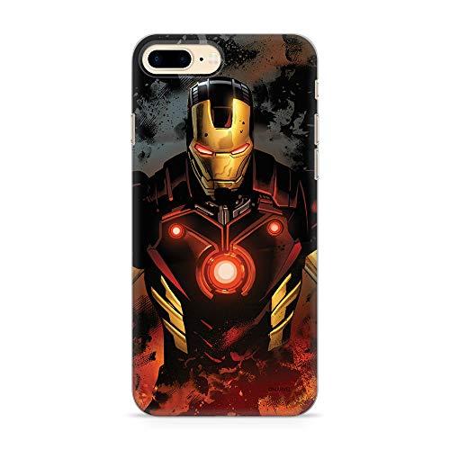 Ert Group MPCIMAN4559 - Marvel Cubierta del Teléfono Móvil, Iron Man 014 iPhone 7 Plus/ 8 Plus, Multicolor