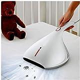 YYhkeby Mites Dispositivo de mano, deshumidificador para el hogar, aspiradora antiácaros para colchones, almohadas, sofás de tela, alfombras, cortinas, toallas, etc. Jialele (color: blanco)