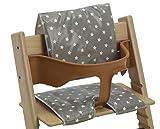 Messy Me Coussins en toile cirée pour chaises hautes de style Tripp Trapp et BabyDan Nettoyage facile