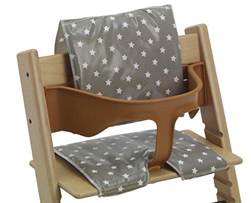 Imagen para Messy Me Coussins en toile cirée pour chaises hautes de style Tripp Trapp et BabyDan Nettoyage facile
