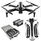 Daily Accessories GPS Drone with Camera for Adults 4K HD FPV Foldable Drone Brushless Motor Quadcopter Drones 30 Mins Flight Time 120 deg Wide Angle 90 deg ESC Level 7 Wind Resistance 2 Batteries