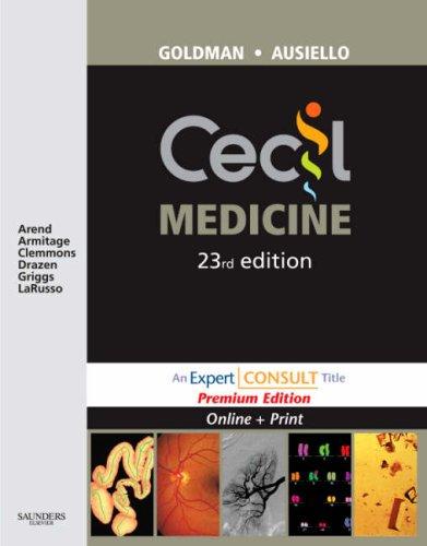 Cecil Medicine: Expert Consult Premium Edition - Enhanced Online Features and Print, 23e