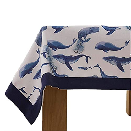 Mantel de equipo de vida familiar ¿Cubierta de mesa?Mantel de algodón y lino Estera de mesa Nordic Thicken Escritorio Mesa de centro Cubierta de tela Mantel de picnic Hogar (Color: C Tamaño: 90 *