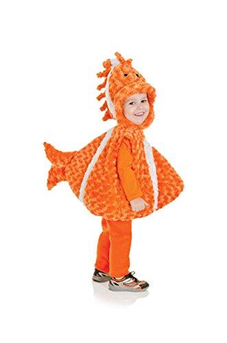 Underwraps Costumes Costume Peluche bébé Poisson Clown Taille 18/24 Mois