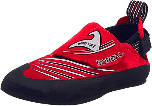 BOREAL Ninja Junior Sportschuhe, Kletterschuhe für Kinder, rot - rot - Größe: 36