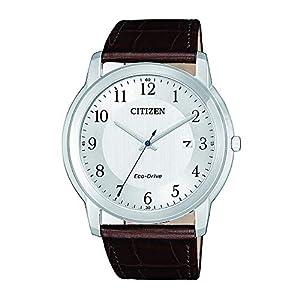 CITIZEN Reloj Analógico para Mujer de Cuarzo con Correa en Cuero AW1211-12A