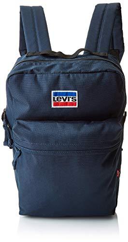 Levi's Mini Levi's® L Pack, Mochila Hombre, Azul (Navy Blue), 10.5 x 37 x 23.5 cm (W x H x L)