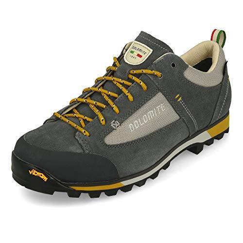 Dolomite Unisex-Erwachsene Zapato Ms Cinquantaquattro Hike Low GTX Schuhe, Gunmetal Grey, 43 1/3 EU