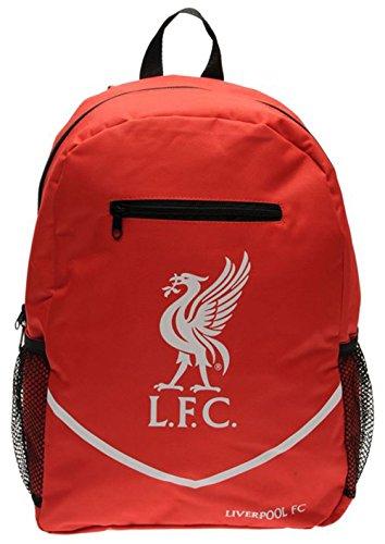 Mens Football Club Team Colours Backpack Rucksack Gift Bag (N, Liverpool)