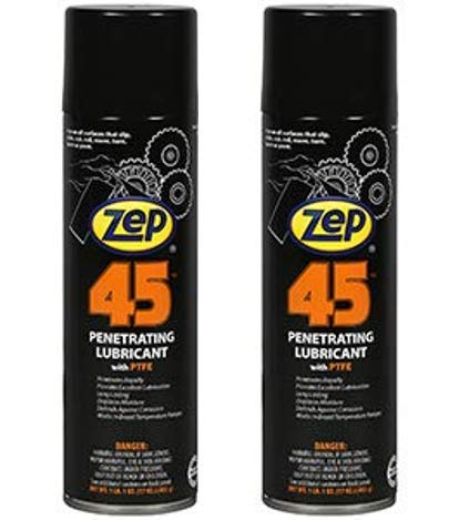 Zep 45 Penetrating Lubricant Aerosol 17401 (Pack of 2) - The Lubricant for Professionals