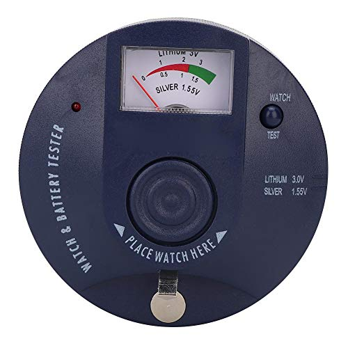 Uhr Batterie Tester, Uhr Quarz Bewegungsmelder Uhrmacherwerkzeug für Uhrmacher