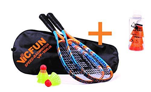 VICFUN Speed Badminton 100 Junior Set, auch erhältlich als Premium Variante (Premium)