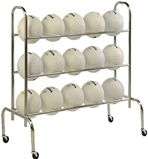 Tandem Sport 3 Tier Ball Rack (Holds up to 12 Athletic Balls)