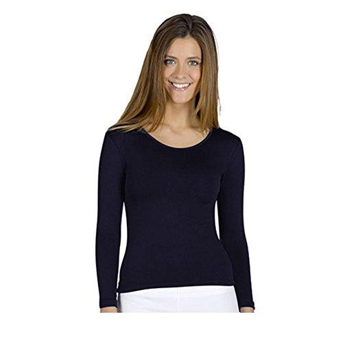 YSABEL MORA - Camiseta TERMICA Mujer Color: Marino Talla: Medium