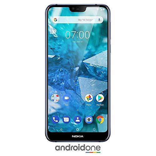 Nokia 7.1 - Android 9.0 Pie - 64 GB - Dual Camera - Dual SIM Unlocked Smartphone...