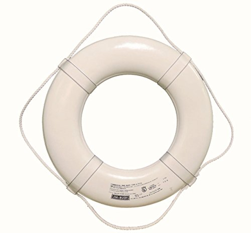 Jim-Buoy G-19 U.S.C.G. Approved G-Series Life Ring - 19