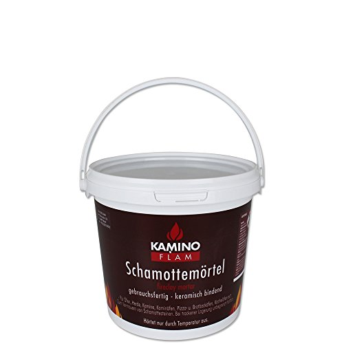 Kamino-Flam - Feuerzement - Kaminmörtel - Schamottemörtel mit Modellauswahl (1)