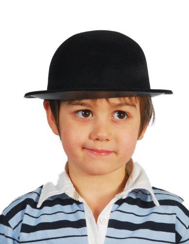 Guirca-13345 Cappello Bombetta Bimbo Bambini, Nero, Universale, 13345