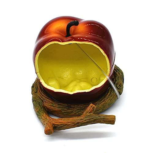CHENPENG Imita el alimentador de pájaros de Fruta Naranja, alimentador de colibrí de jardín al Aire Libre, Ideas de Regalo para Amantes de Las Aves, para colibríes y Aves Silvestres,C