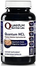 Quantum HCL, 90 Vegetarian Capsules (Betaine Hydrochloride Acid Caps) for Quantum-State Digestive and Detoxification Support