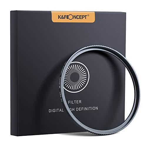 77mm uvフィルター 保護フィルター プロテクター 高硬度 撥水 撥油 レンズ保護 衝撃対応 低反射率 高透過率 mcuv レンズフィルター K&F Concept【メーカー直営店】