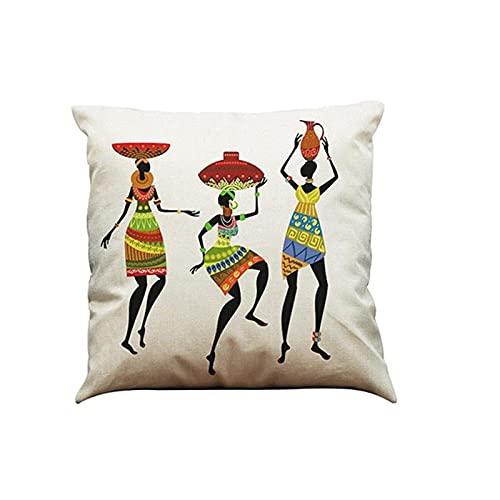 Imagen De Dibujos Animados Almohada Decorativa Él Lino Algodón Mezclado Cojín Oficina En Casa Sofá Elefante Funda De Almohada