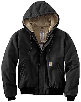 Carhartt Men s Flame Resistant Duck Active Jacket Black X-Large