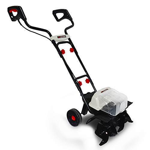 X-Performaner XPMTBE20LI - Motoazada (40 V, 35 cm, prof. 18 cm, 4 fresas, sin batería ni cargador)
