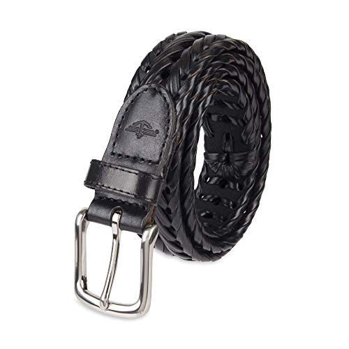 Dockers Men s Leather Braided Casual and Dress Belt