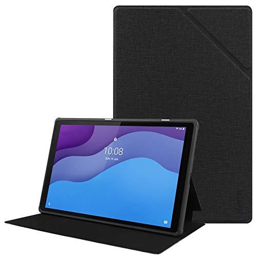 "HoYiXi Custodia per Lenovo Tab M10 HD (2nd Gen) 10.1 Pollici Tablet 2020 Ultra Sottile TPU Custodia Protettiva Anti-Goccia Per 10.1"" Lenovo Tab M10 HD (2nd Gen) TB-X306X TB-X306F 2020 - nero"