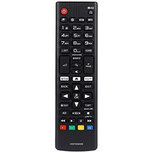 LFYSJTX Reemplazo AKB75095308 Mando para LG Smart TV 32LJ610V 43UJ634V 49UJ634V 55UJ634V 60UJ6307 65UJ634V